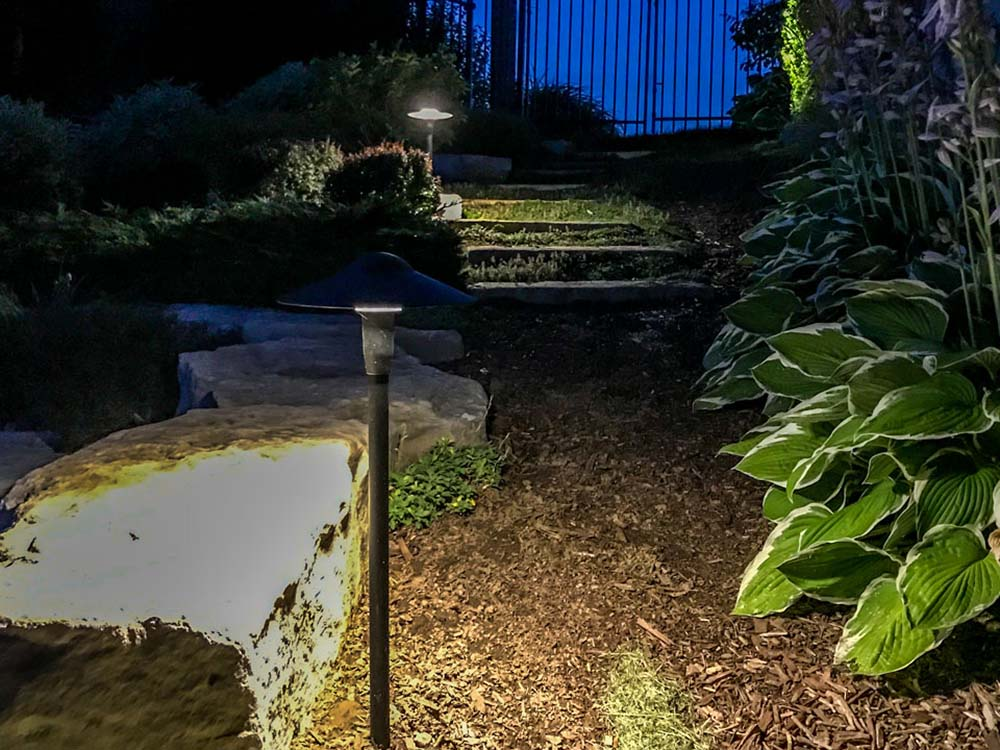 Pathway Lighting At Kitchener Home