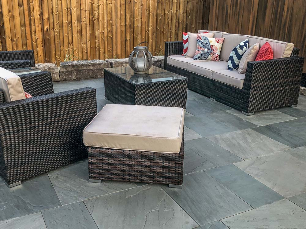 Patio With Furniture In Kitchener