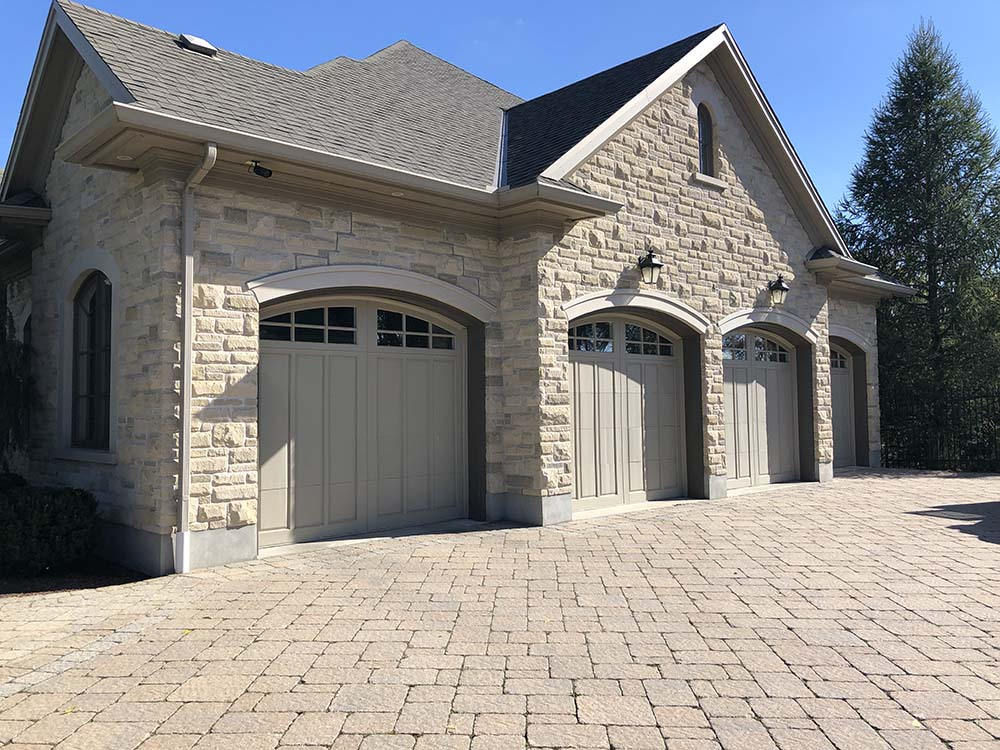 Paver Driveway Installed In Kitchener