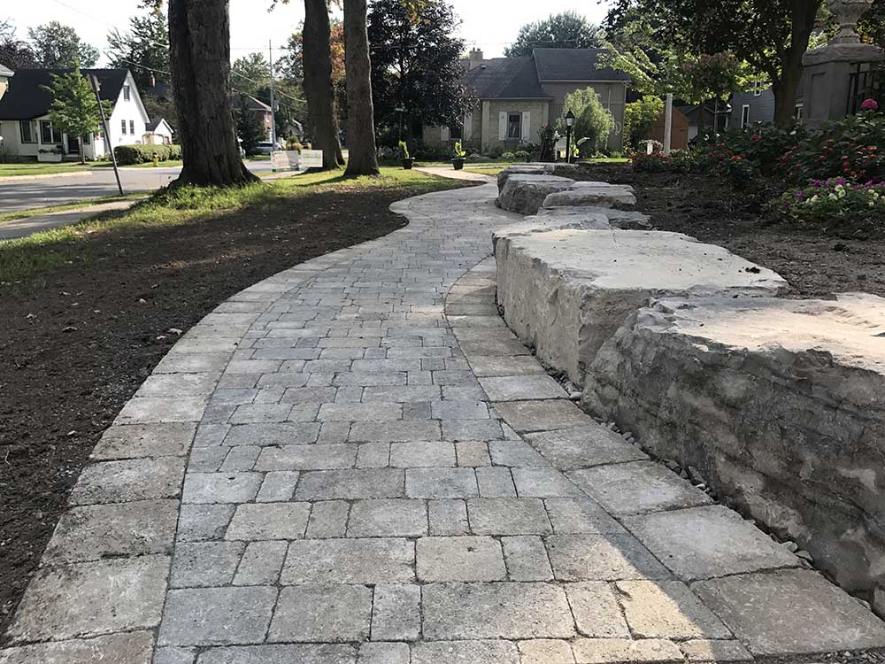 Paver Walkway In Kitchener ON