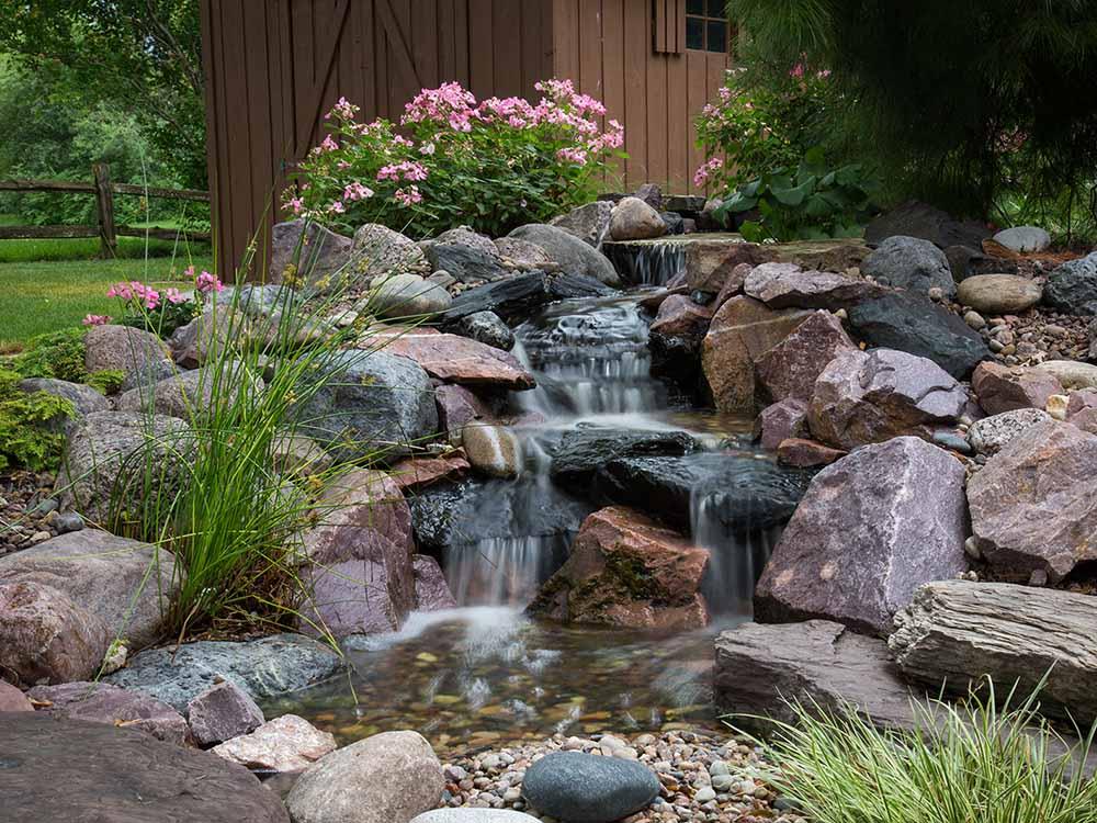 Pondless Waterfall Built