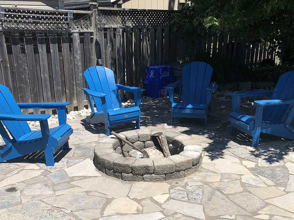 Wood Fire Pit In Kitchener ON